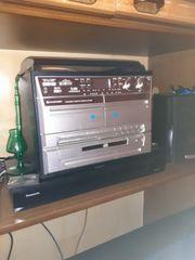 Stereoanlage mit Plattenspieler USB usw