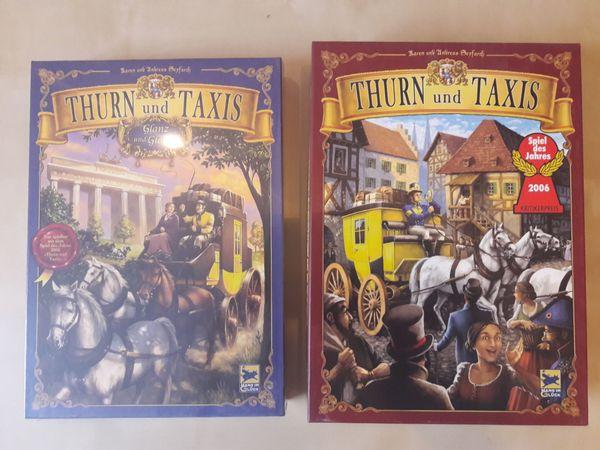 Gesellschaftsspiel Thurn und Taxis mit