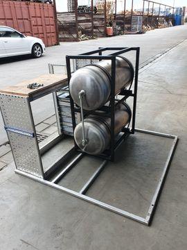 Geräte, Maschinen - Luftdruckspeicher Luftdruckbank 200 Liter für