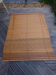 Holz Jalousie 120cm x 160cm