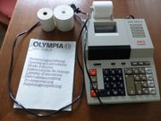 Voll funktionsfähige AEG Olympia Rechenmaschine