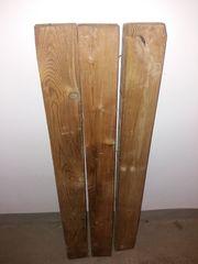 3x Vier Kant Konstruktions Holz