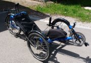 Liegerad Trike Catrike Elektrorad BikonX