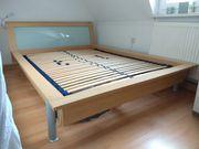 Bett 200x140 Musterring Holz Optik