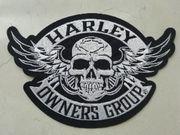 Aufnäher Patch Harley Davidson HOG