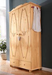 NEU Kleiderschrank Melody 2-türig Massiv-Holz