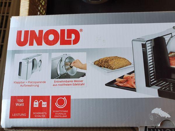 Unold 78856 Allesschneider Kompakt mit