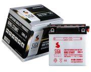 SIGA Motorrad Batterie 9AH 12V