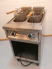 Friteuse Doppelfriteuse Profi-Küche Gastro-Bedarf