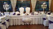 Hochzeitsdeko Hochzeitsservice Kerzenleuchter Stuhlhussen Verleih