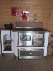 Küchenherd Holzofen Kohleherd Backofen Dauerbrandherd