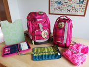 Ergobag-Schulrucksack pink