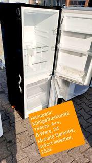 Hanseatic Kühlgefrierkombi 144cm A