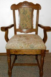 Sehr bequemer Stuhl aus Eiche