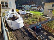 Dachsubstrat extensiv Erde für Dachbegrünung