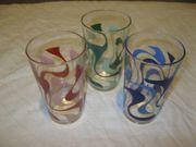 3 Gläser Trinkgläser