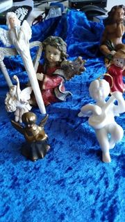 Engel Figuren und 5 kleine