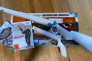 Nintendo WII Gewehr Pistole und