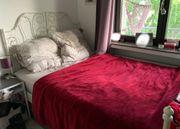 IKEA Bett hohe Matratze und