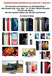 Neueröffnung - Unser E-Shop Handys und