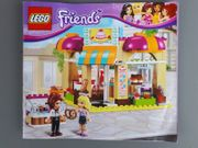 Lego friends Cafe Bäckerei