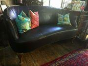 Rund-Sofa Frankreich 1890 antike Möbel