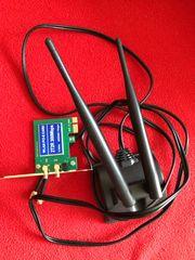 wlan pci Express mit Antenne