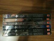 Guin Saga 1-6 Manga Taschenbücher