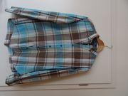 H M kariertes Sommerhemd Hemd