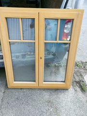 Neues zweiflügiges Holz Fenster 110