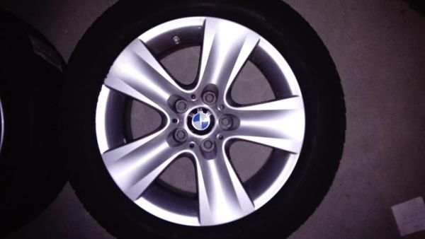 Originale BMW ALU Felgen komplett