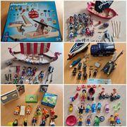 Playmobil Sets - Seilbahn Piraten Wikinger
