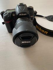 Nikon D7000 Spiegelreflexkamera inklusive Zubehör