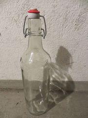 Saftflasche 1 Liter Bügelflasche Glasflasche