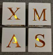 Leuchtende X-MAS Deko