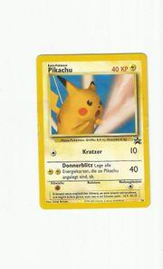 Pokemon Pikachu Wizards Black Star