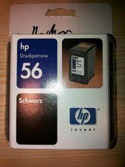 HP 56 Tintenpatronen schwarz black
