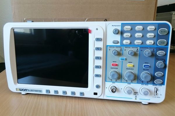 Owon Digital Oszilloscope 100Mhz SDS7102V