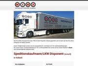 Speditionskaufmann LKW Disponent m w
