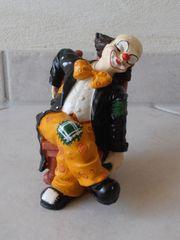 Zwei schöne Clown Figuren