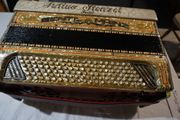 Akkordeon Knopfakkordeon Julius Stenzel 120Bass
