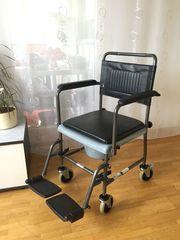 WCSTUHL Rollstuhl Nachtstuhl