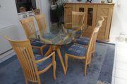 Esstisch mit 6 Stühle und