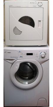Singel Waschmaschine und Trockner