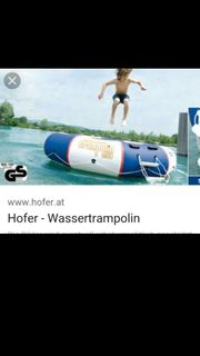 Trampolin für das Wasser