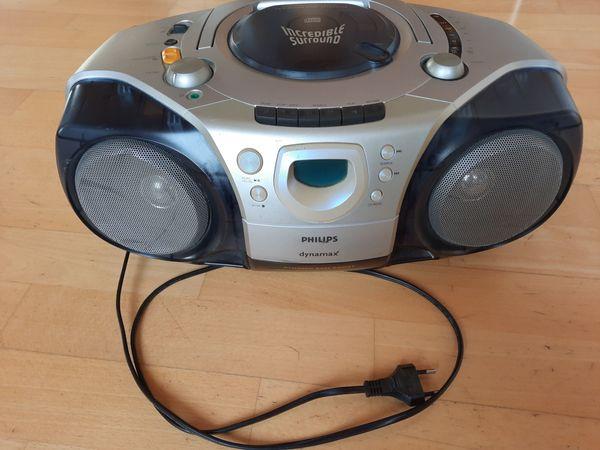Philips Dynamax CD Radio Cassette