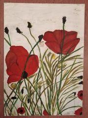 Wandbild Blumen