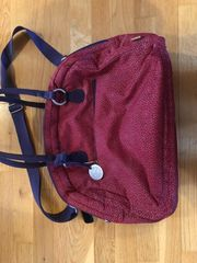 Goldlabel Wickeltasche Bowler Bag rot