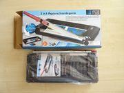2-in-1-Papierschneidegerät Rollenschneider Papierschneider