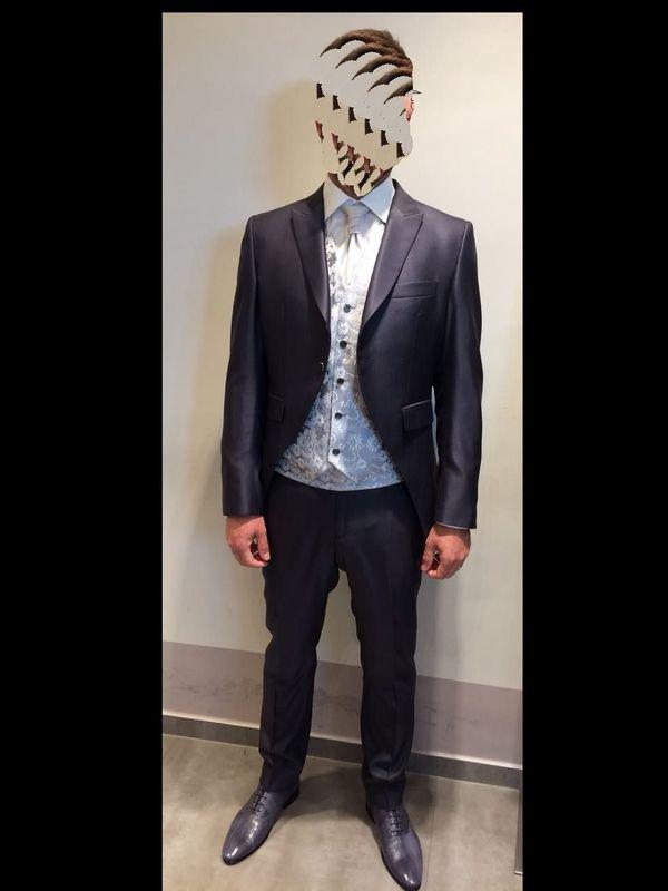 purchase cheap d0023 cbaaf Hochzeitsanzug - Anzug - Hochzeit - sehr edel, grau ...